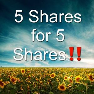 5 Shares for 5 Shares 😁